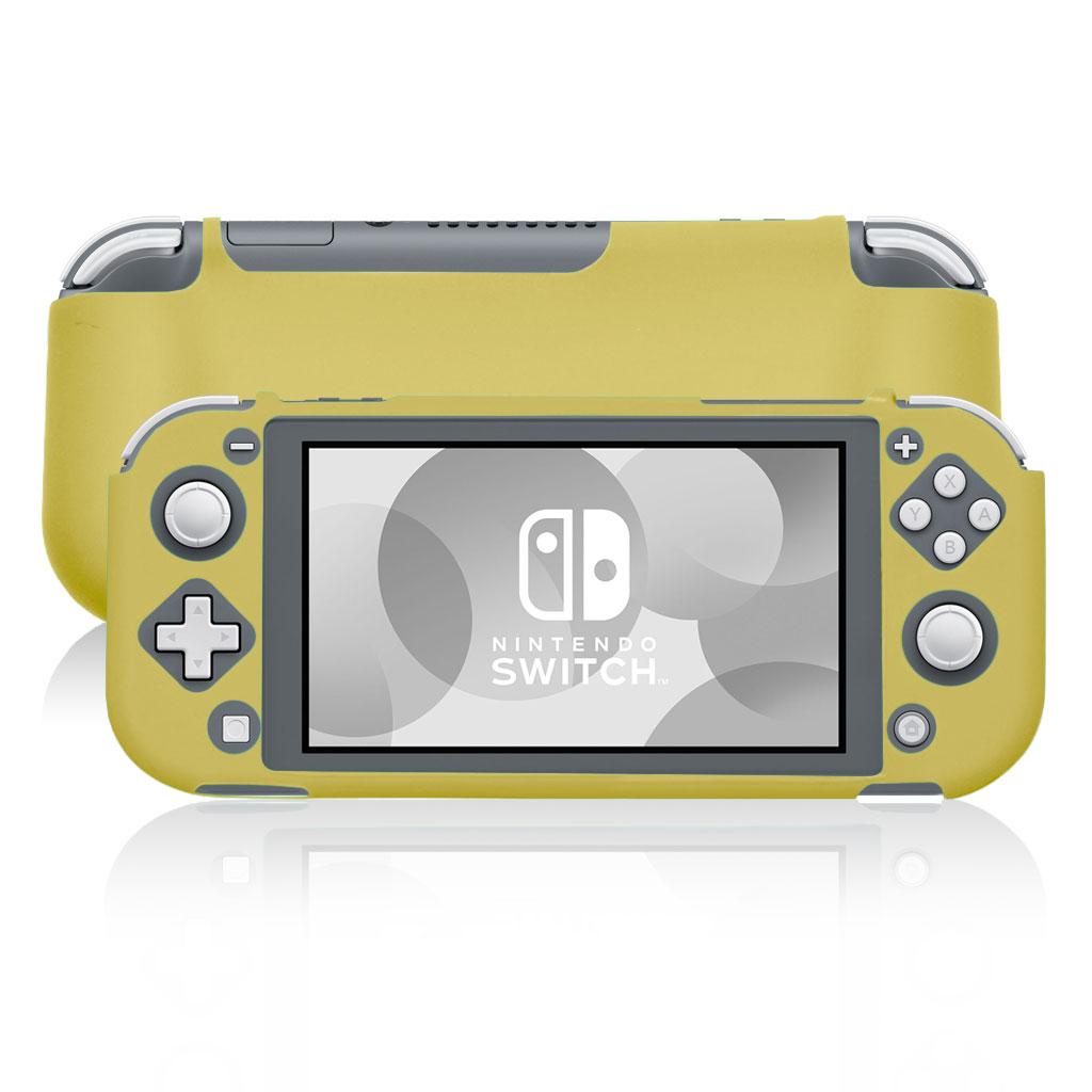 Nintendo Switch Lite cool silikone etui - Gul