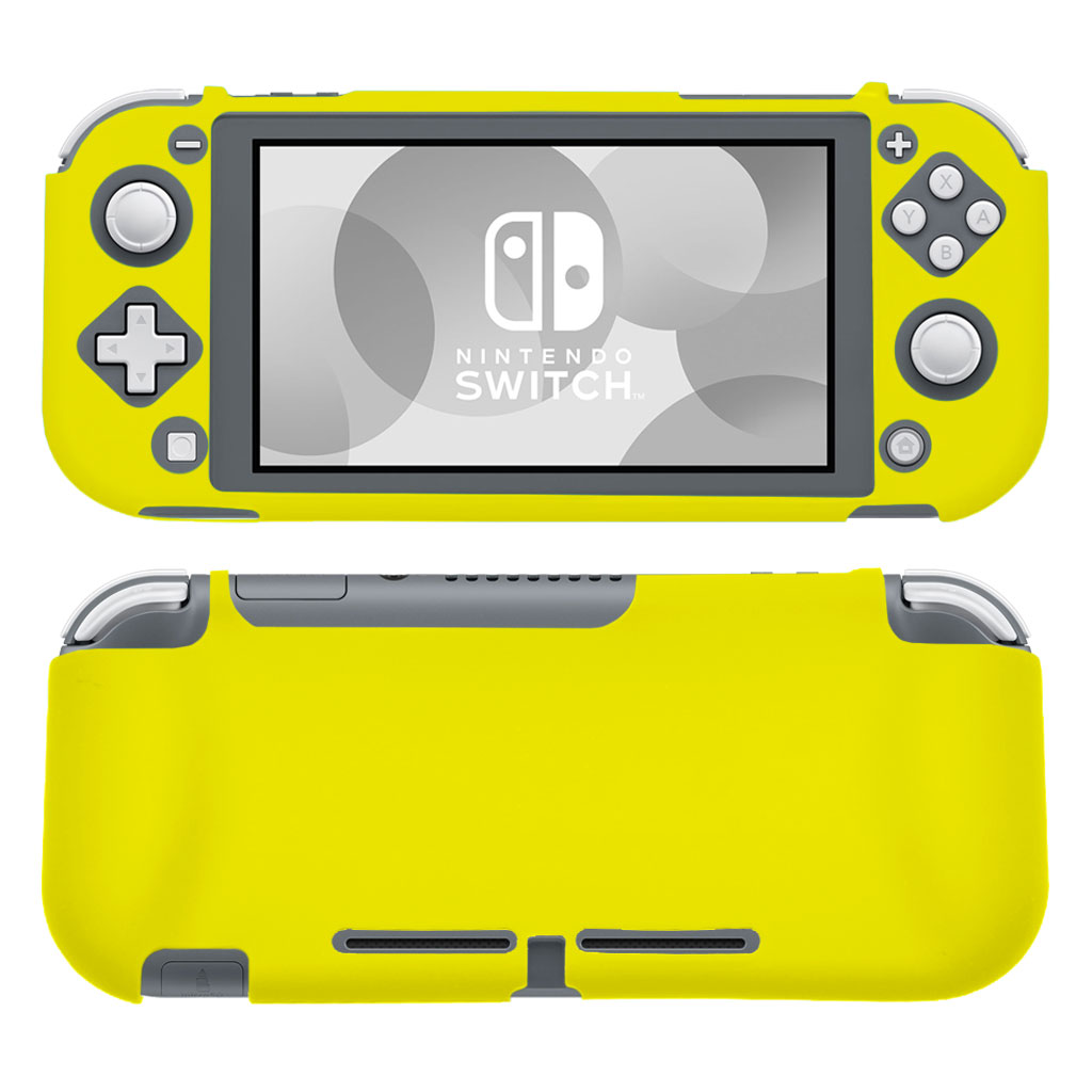Nintendo Switch Lite silicone case - Yellow