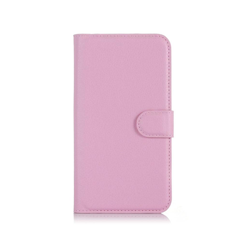 Acer Liquid Z630 beskyttende læder-etui m. kortholder - Pink