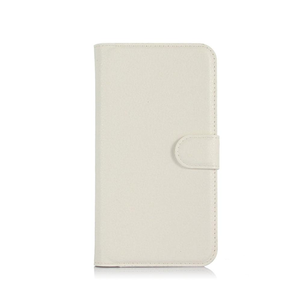 Acer Liquid Z630 beskyttende læder-etui m. kortholder - Hvid