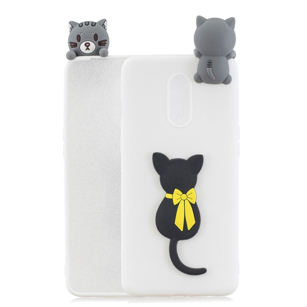 Cute 3D OnePlus 7 cover - Kat