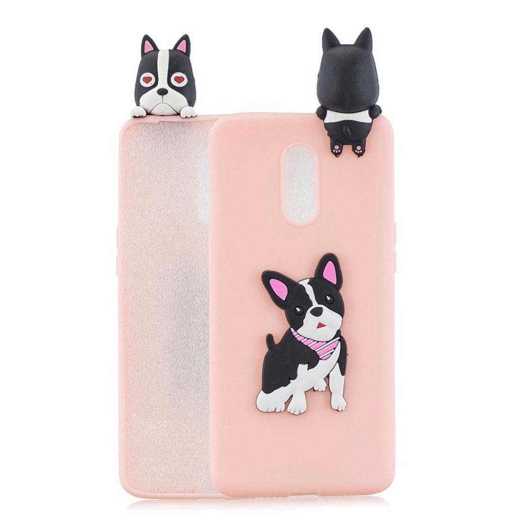 Cute 3D OnePlus 7 cover - Hund