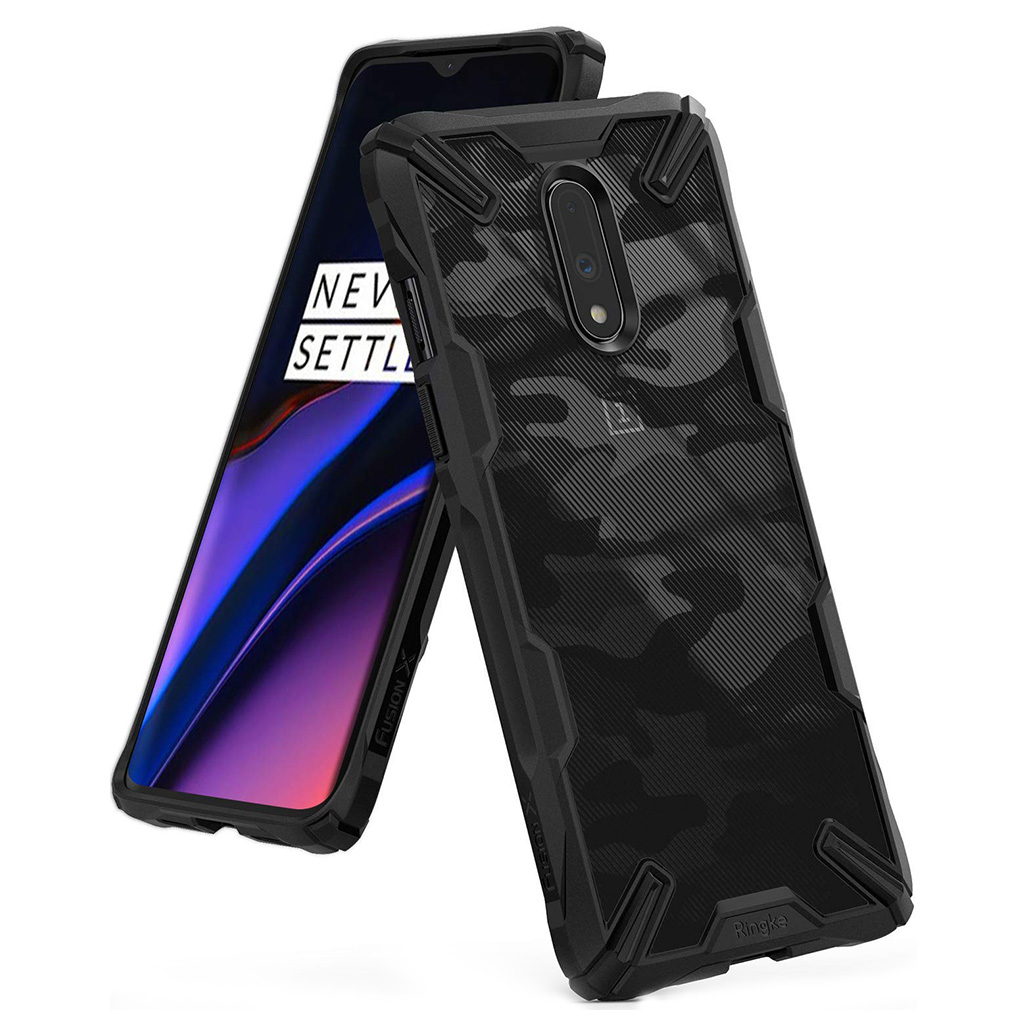 Ringke FUSION X DESIGN OnePlus 7 - Camo black