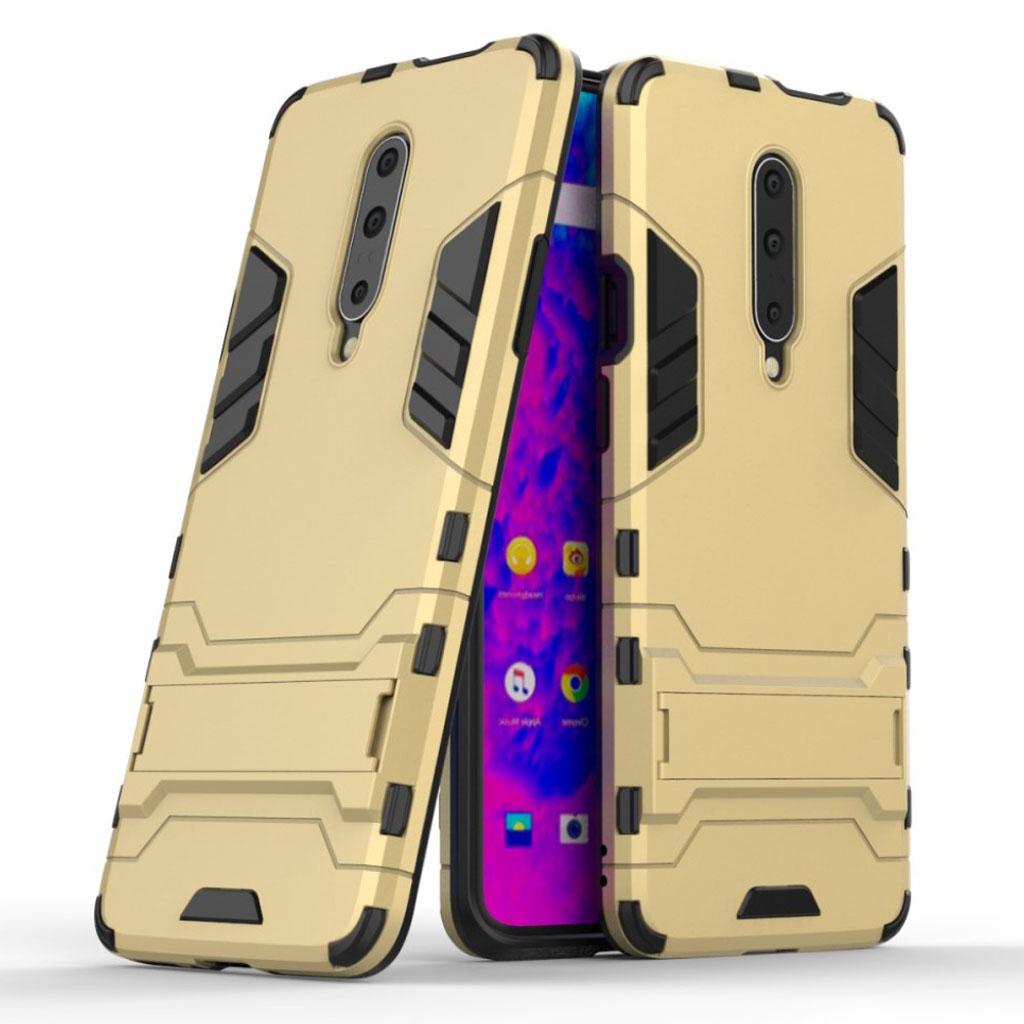 Cool Guard OnePlus 7 Pro cover - Guld