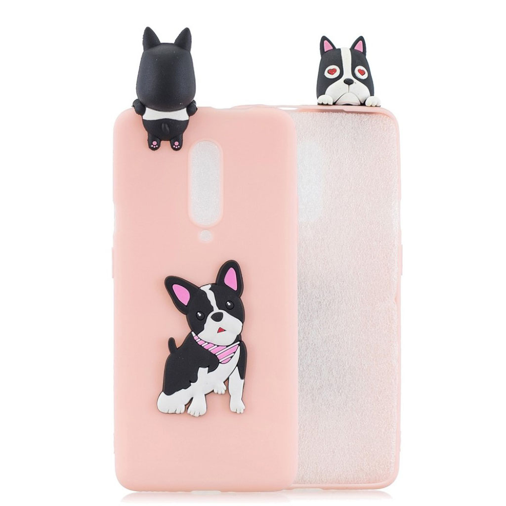 Cute 3D OnePlus 7 Pro cover - Hund