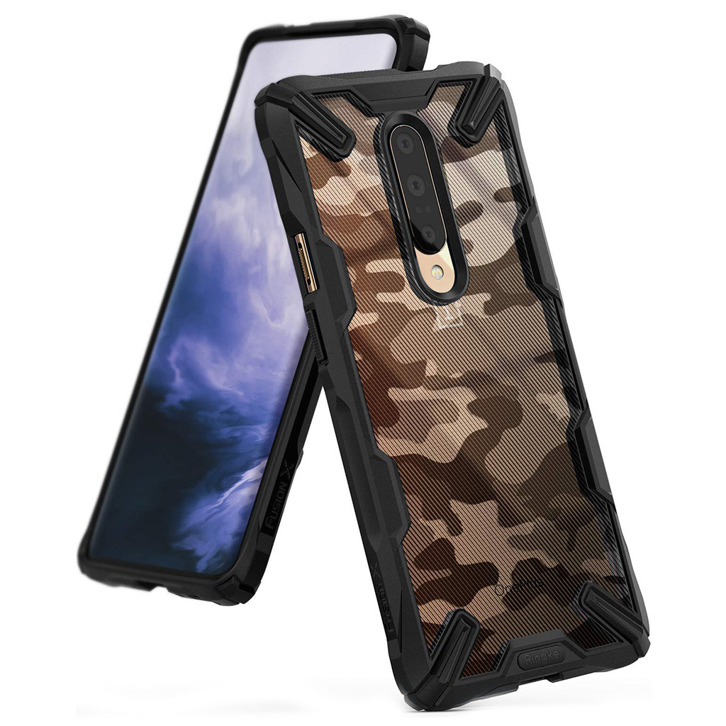 Ringke FUSION X DESIGN OnePlus 7 Pro - Camo black