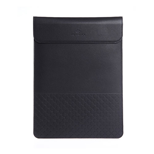 Image of   GEARMAX Envelope Notebook Sleeve for 13.3-inch Apple MacBook 380x265mm - Black