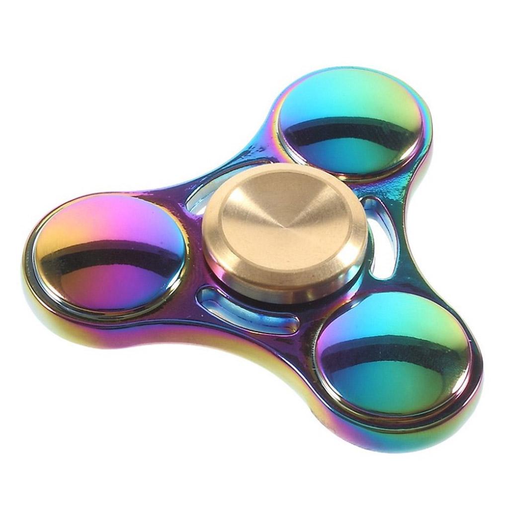 Image of   Fidget Hand Spinner i metal - Mange farver