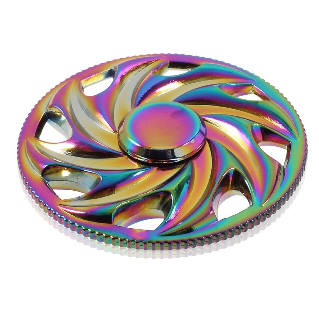 Image of   Fidget Hand Spinner - Hot wheels
