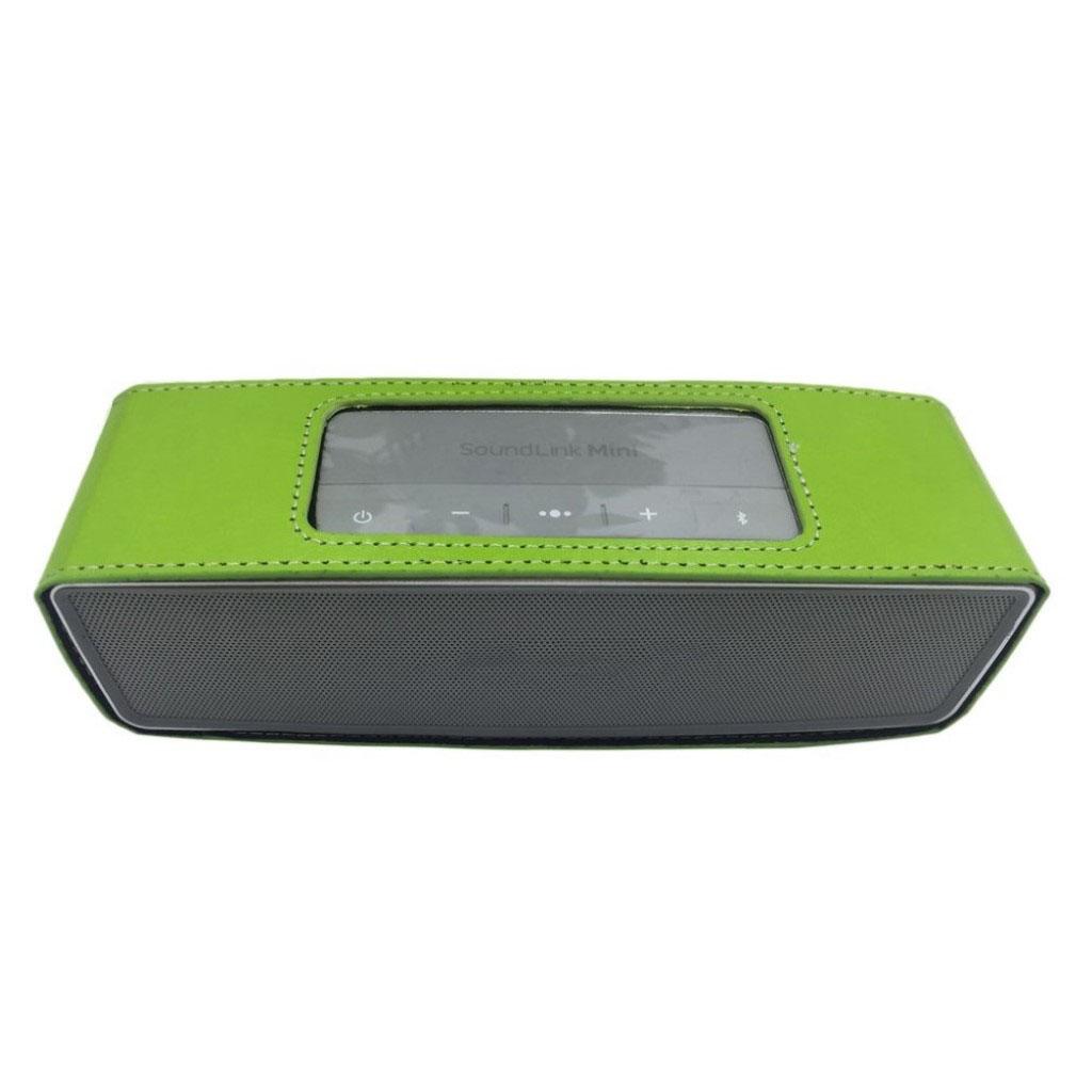 Bose Soundlink Mini II anti-knock leather case - Green