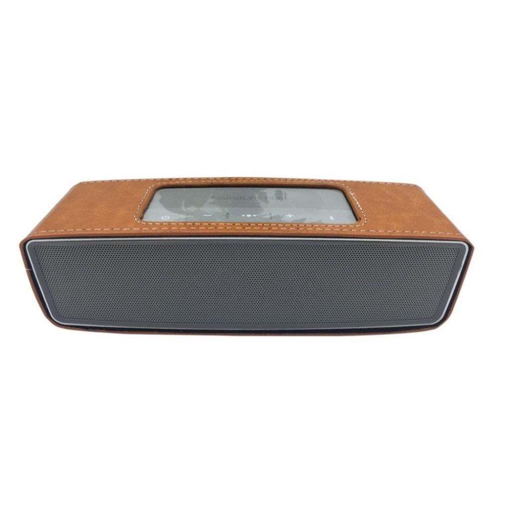 Bose Soundlink Mini II anti-knock leather case - Brown