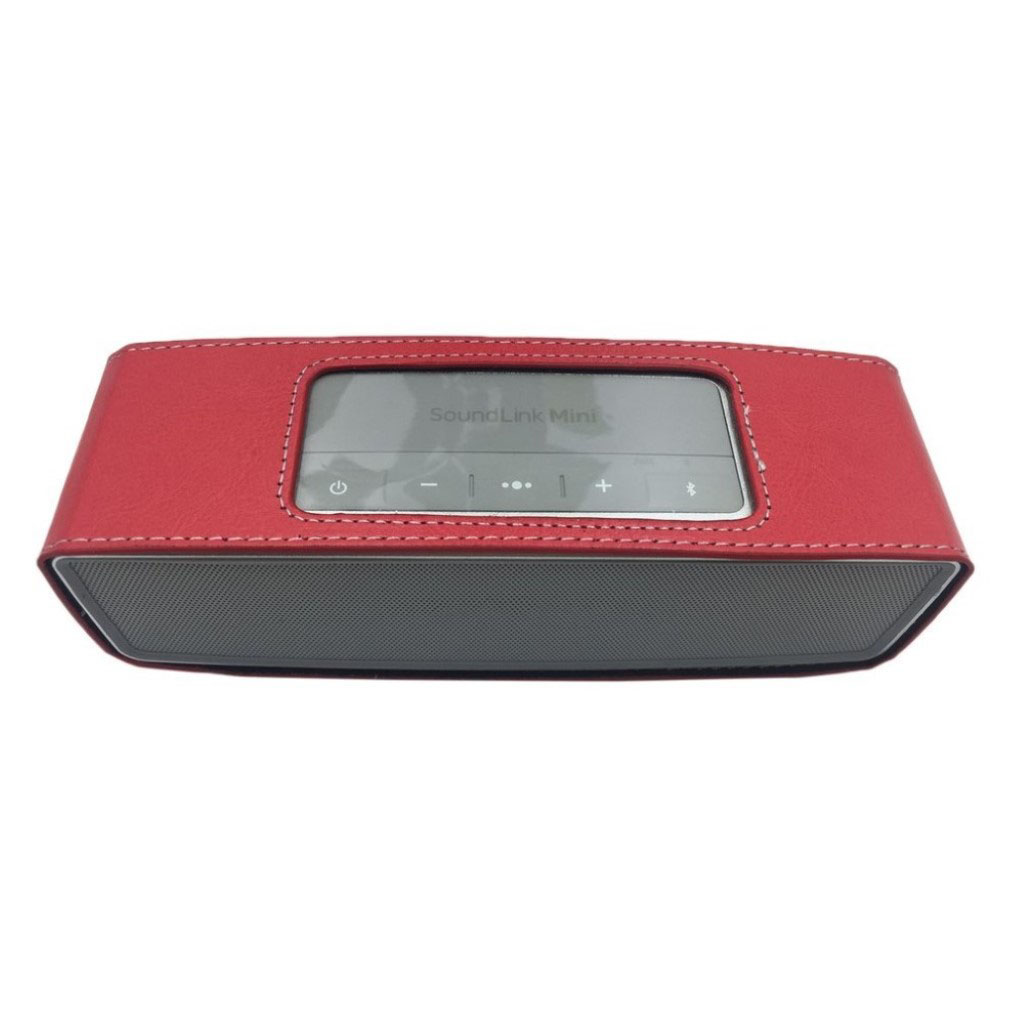 Bose Soundlink Mini II anti-knock leather case - Red