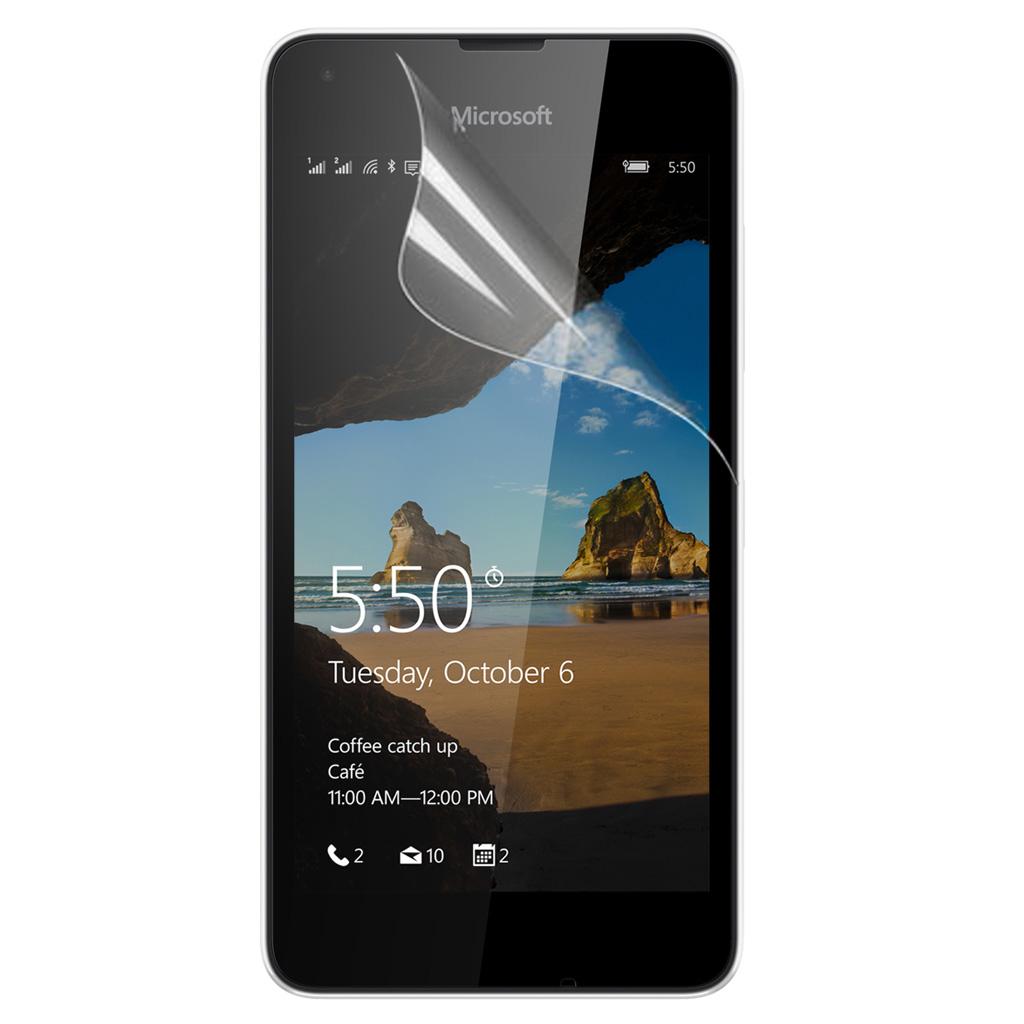 Skærmbeskyttelse til Microsoft Lumia 550. 3 stk.