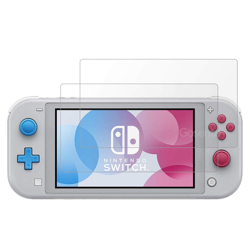 2Pcs Nintendo Switch Lite arc edge hærdet glas skærmbeskyttelse