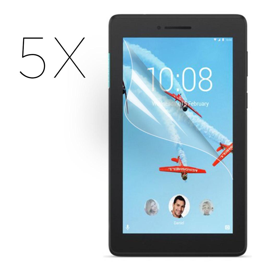 Lenovo Tab E7 HD clear screen protector - 5-Pack
