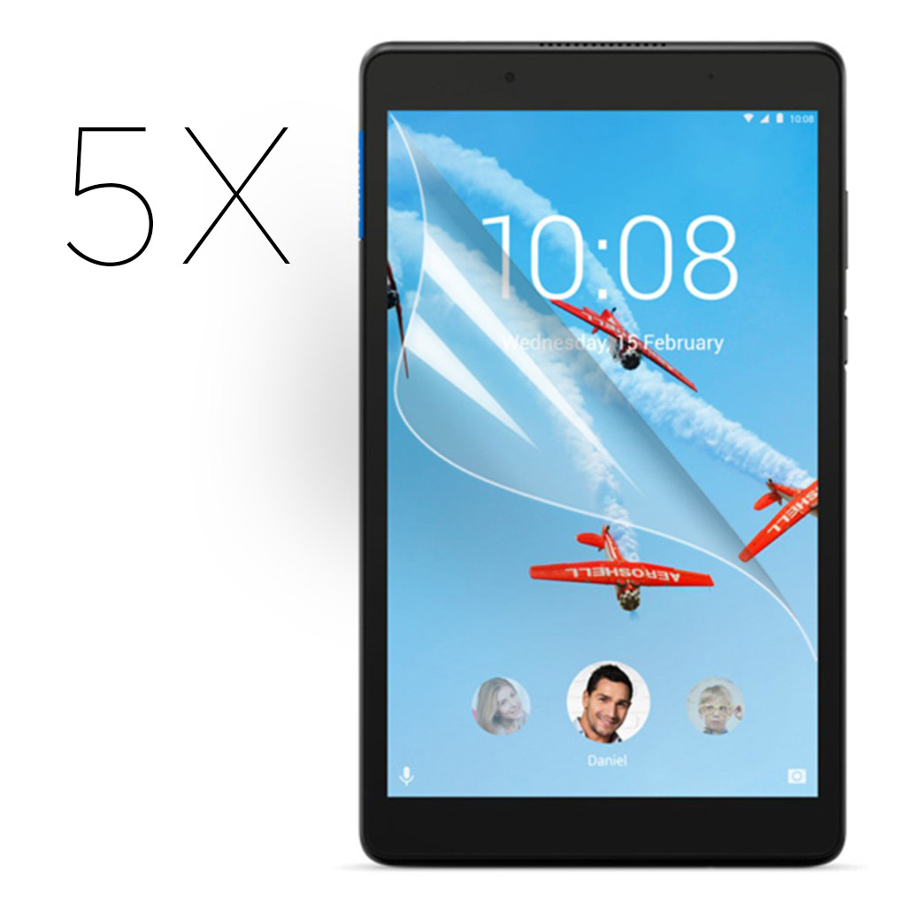 Lenovo Tab E8 ultra clear screen protector - 5-Pack