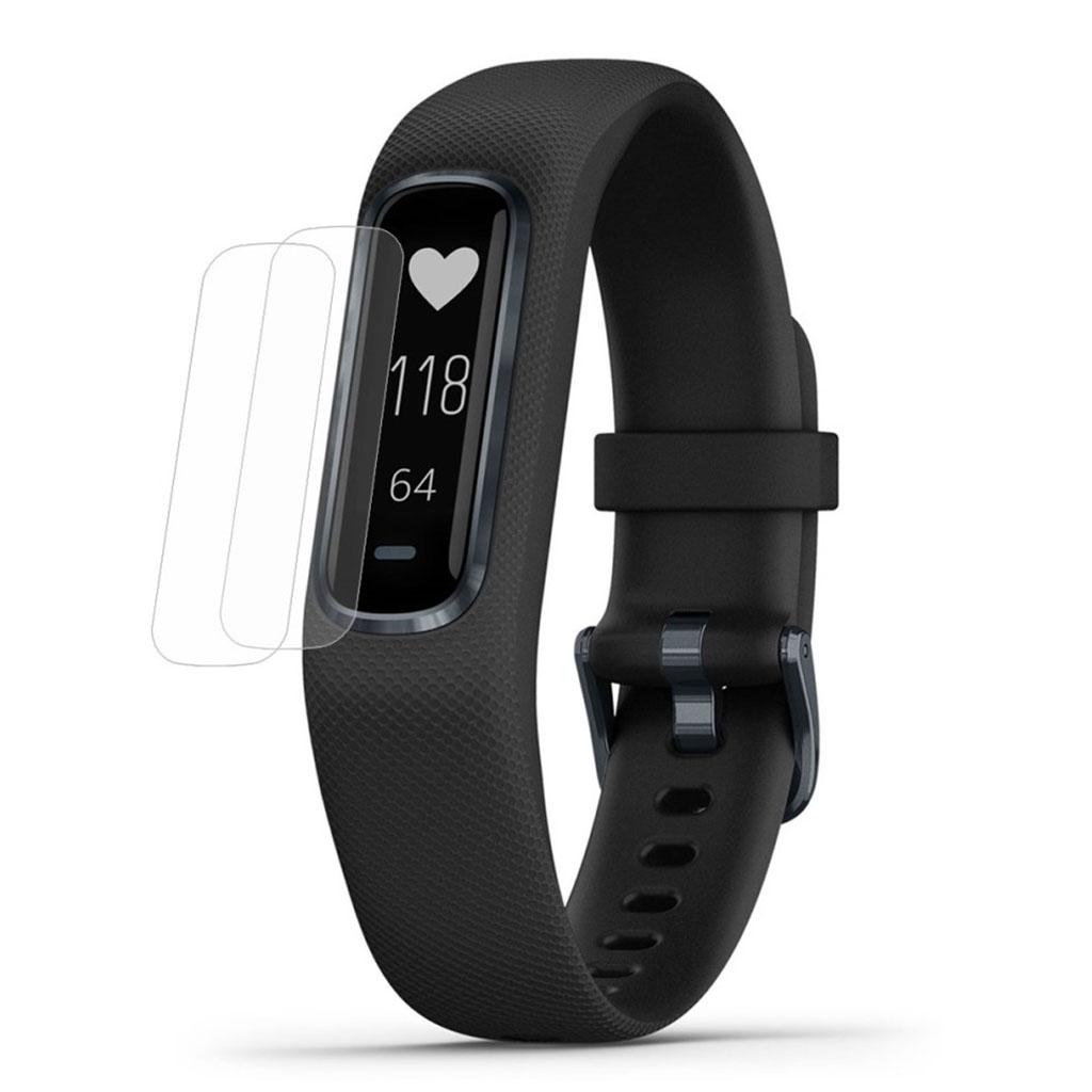 2-Pcs HAT PRINCE Garmin Vivosmart 4 clear soft watch band