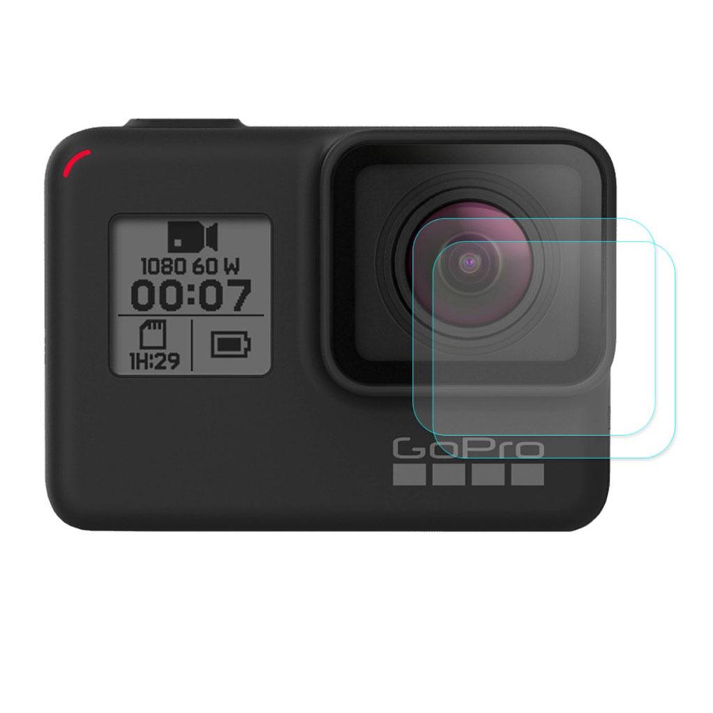 HAT PRINCE 2 stk GoPro HERO7 sort skærmbeskytter i hærdet glas