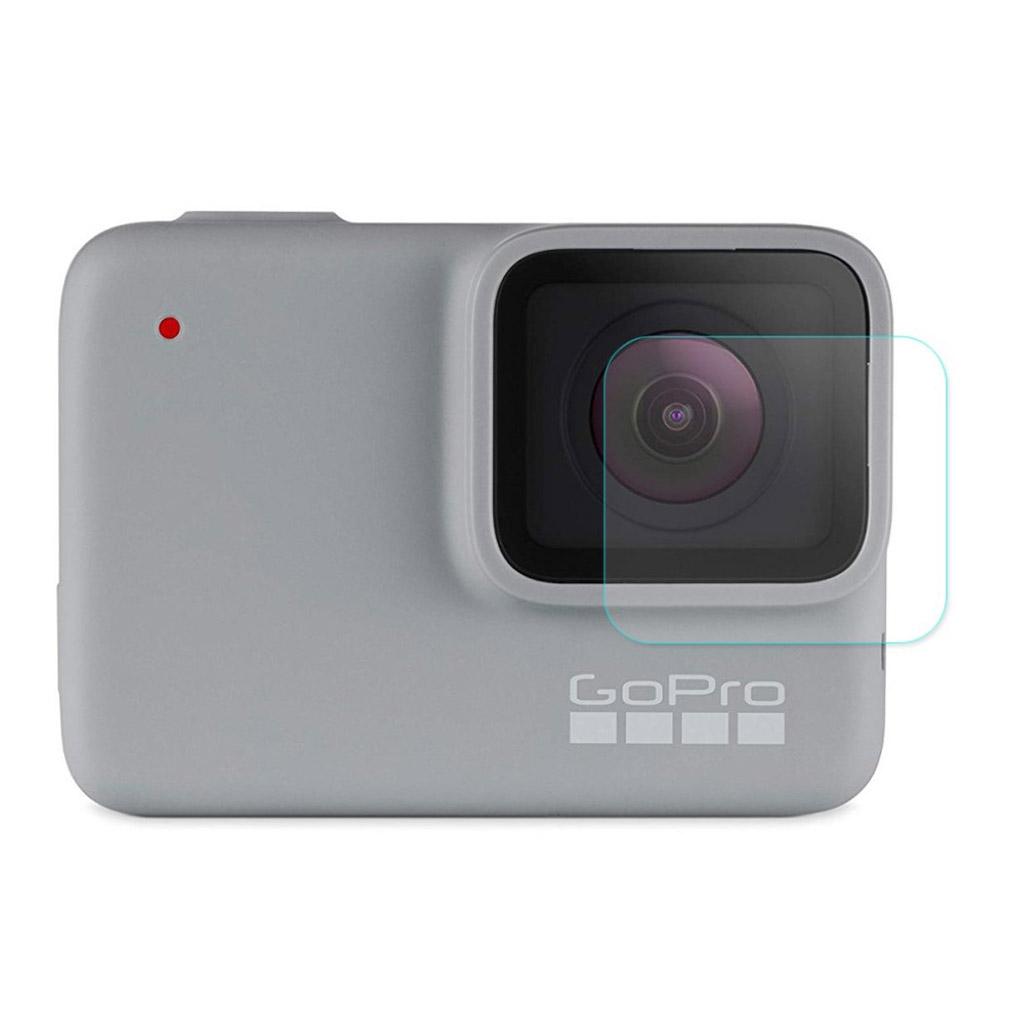 HAT Prins GoPro HERO7 Hvid/Sølv 9H hærdet glas skærmbeskyttelse