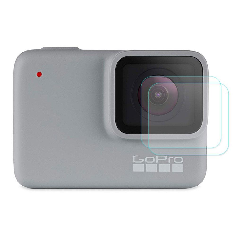 HAT PRINCE 2 stk GoPro HERO7 hvid/sølv skærmbeskytter i hærdet glas