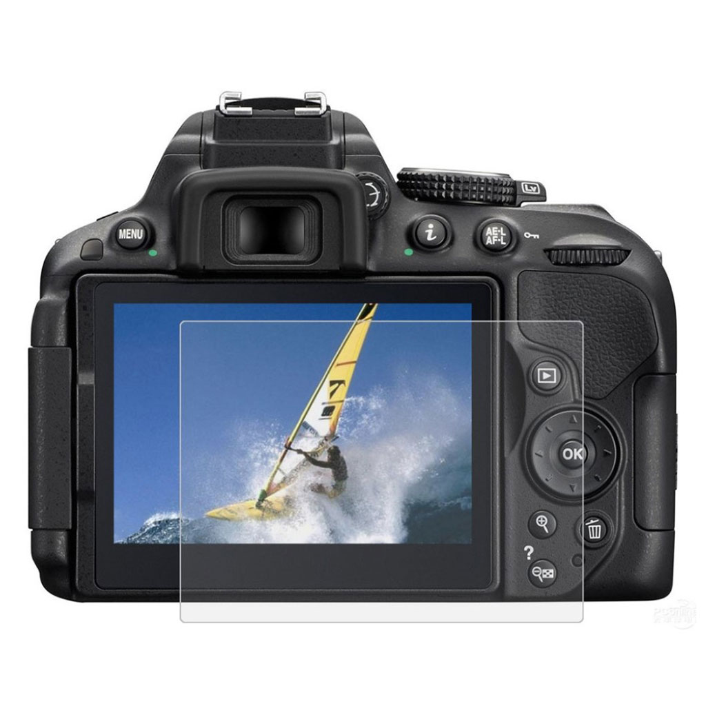 PULUZ PU5508 Nikon D5300 / D5500 9H skærmbeskytter i hærdet glas
