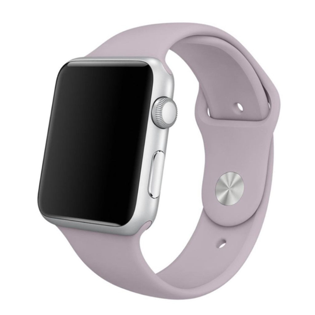 Apple Watch Series 4 44mm silicone watch band - Light Purple