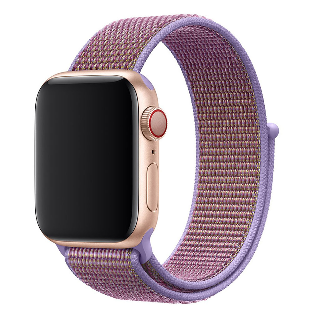Apple Watch Series 4 44mm nylon watch band - Purple