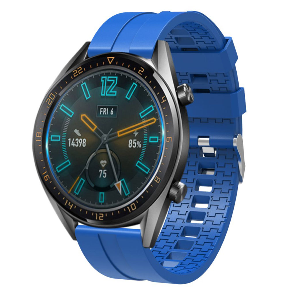 22mm Huawei Watch GT silikone Urrem - Blå