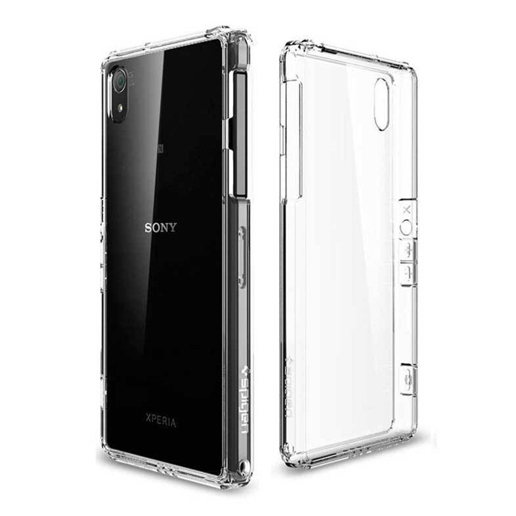 Sony Xperia M2 Transparent Plast Cover (Blødt)