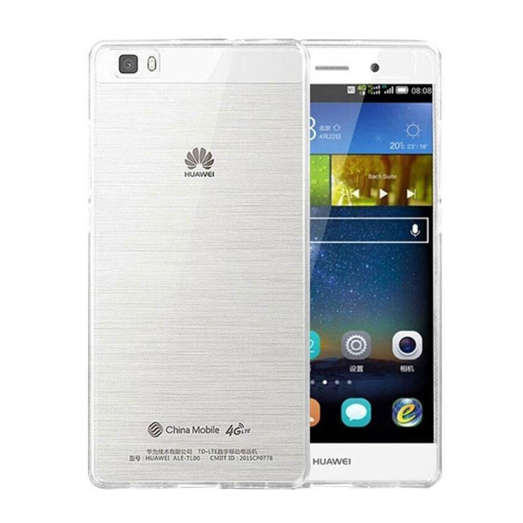 Image of   Huawei Ascend P8 Lite Transparent Plast Cover (Blødt)