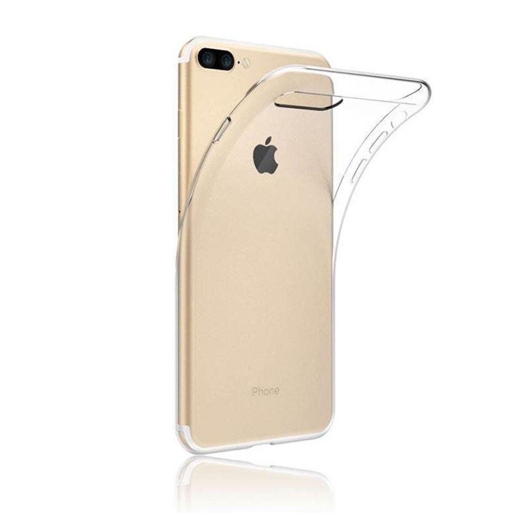 Image of   iPhone 7 og iPhone 8 Transparent Plast Cover (Blødt)