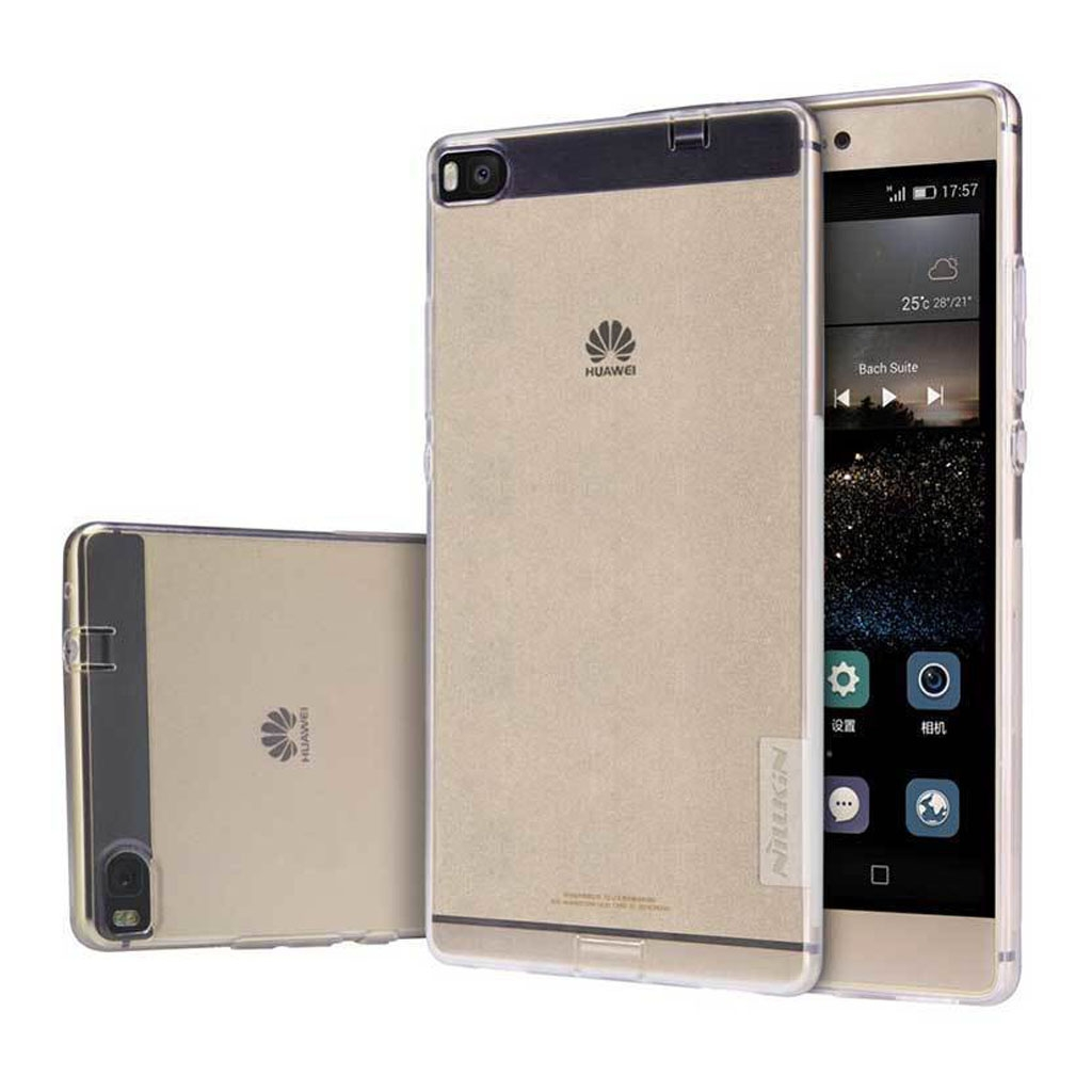 Image of   Huawei Ascend P8 Transparent Plast Cover (Blødt)