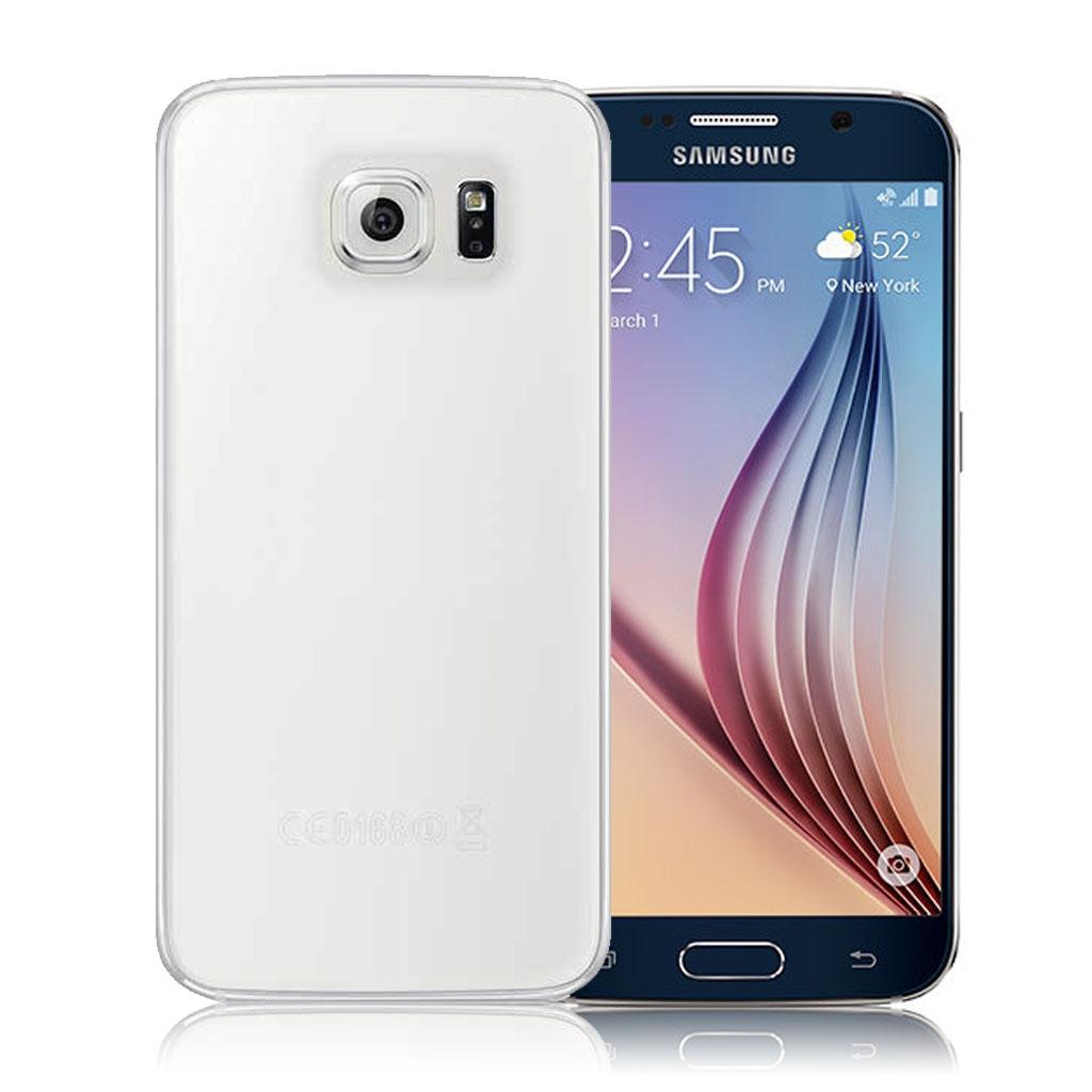 Image of   Samsung Galaxy S6 Transparent Plast Cover (Blødt)