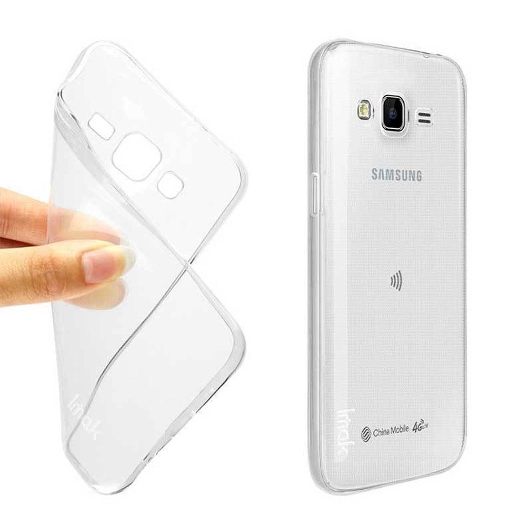 Image of   Samsung Galaxy J7 Transparent Plast Cover (Blødt)