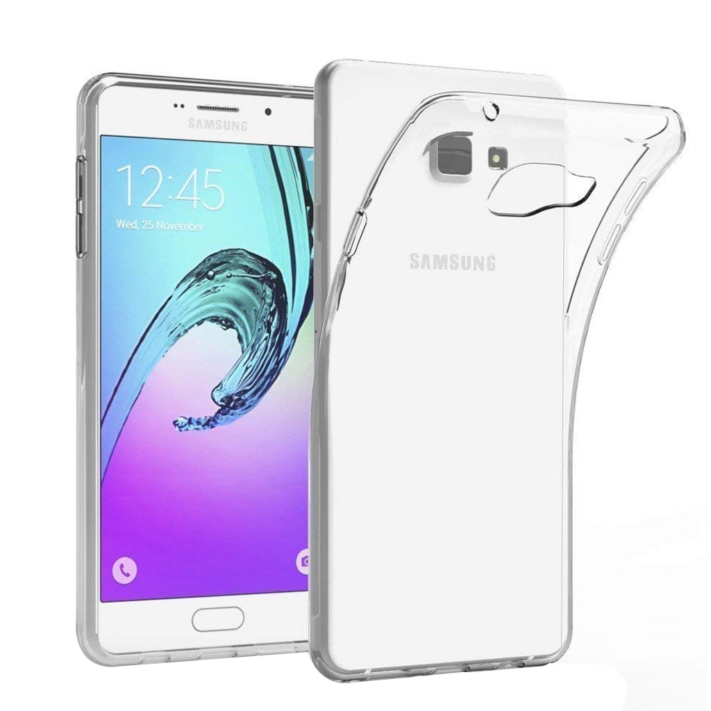Image of   Samsung Galaxy A7 Transparent Plast Cover (Blødt)
