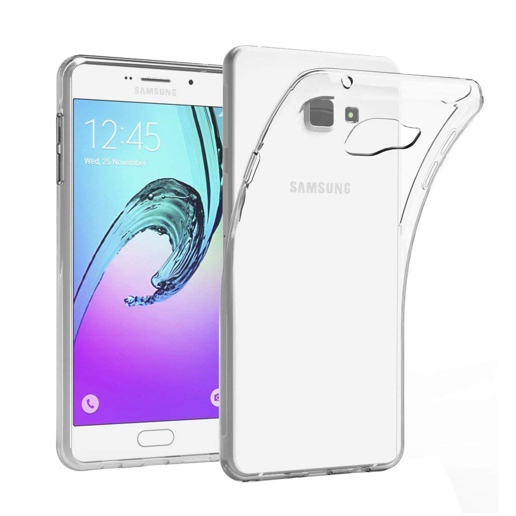 Image of   Samsung Galaxy A7 (2016) Transparent Plast Cover (Blødt)