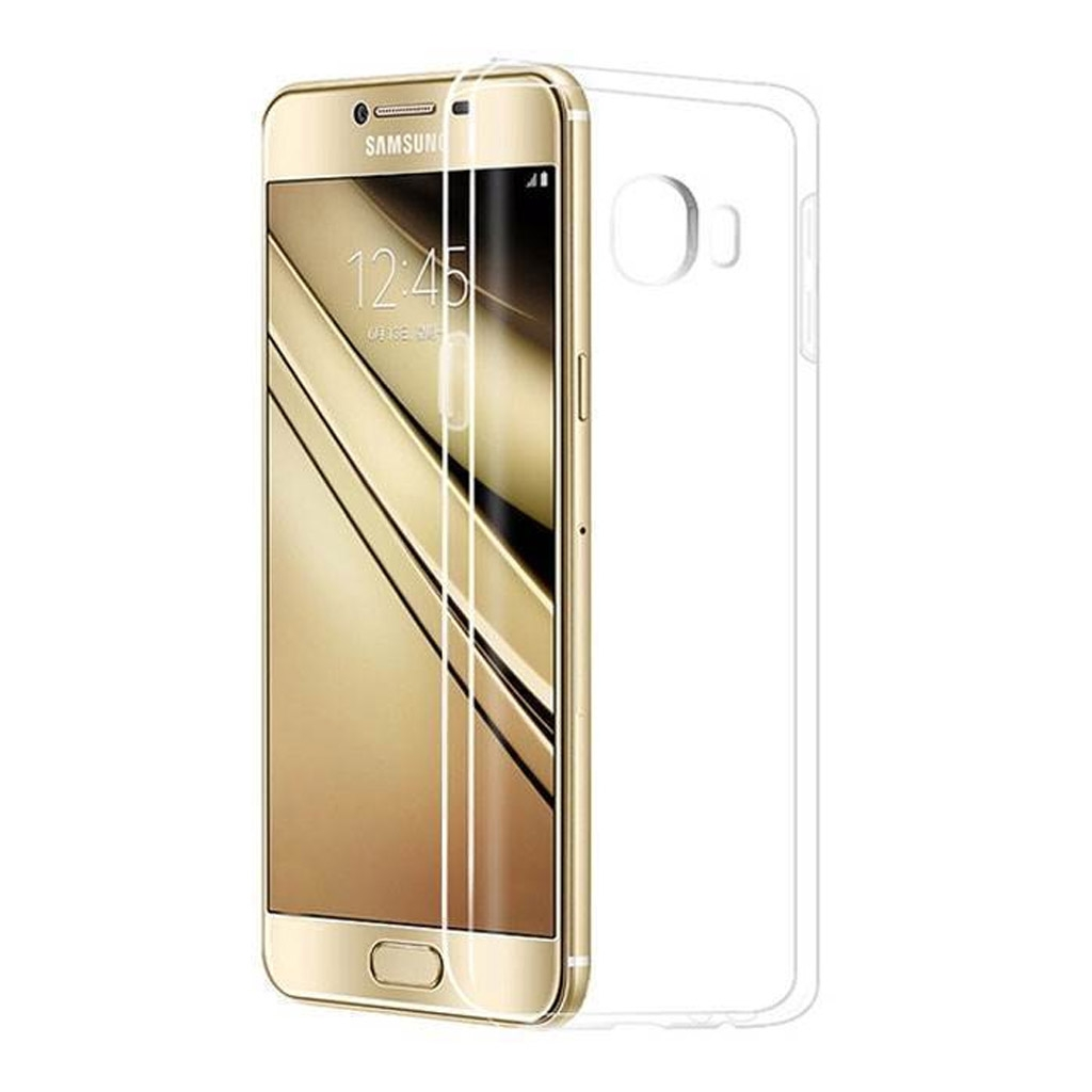 Image of   Samsung Galaxy C7 Transparent Plast Cover (Blødt)