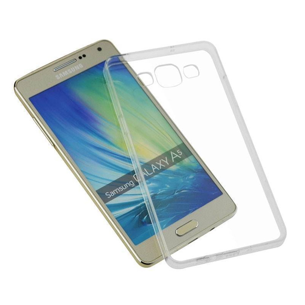 Image of   Samsung Galaxy A5 Transparent Plast Cover (Blødt)