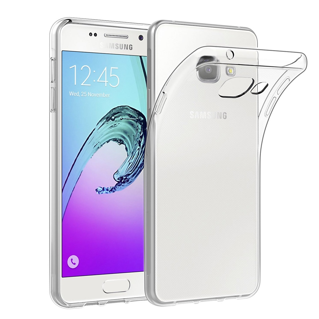 Image of   Samsung Galaxy A5 (2016) Transparent Plast Cover (Blødt)