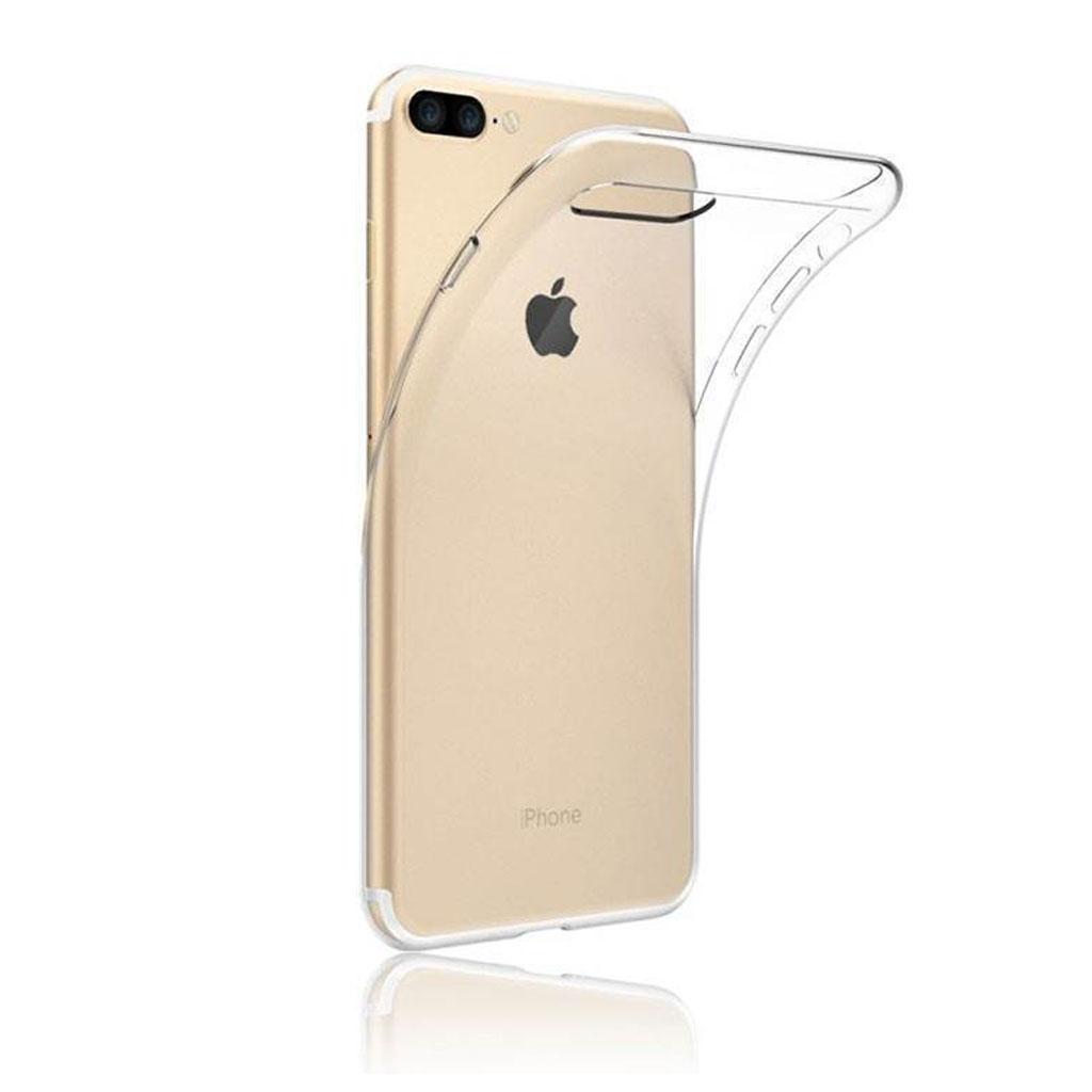 Image of   iPhone 7 Plus og iPhone 8 Plus Transparent Plast Cover (Blødt)