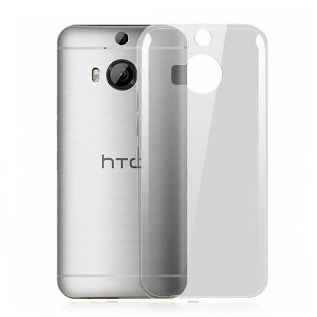 Image of   HTC One M9 Plus Transparent Plast Cover (Blødt)