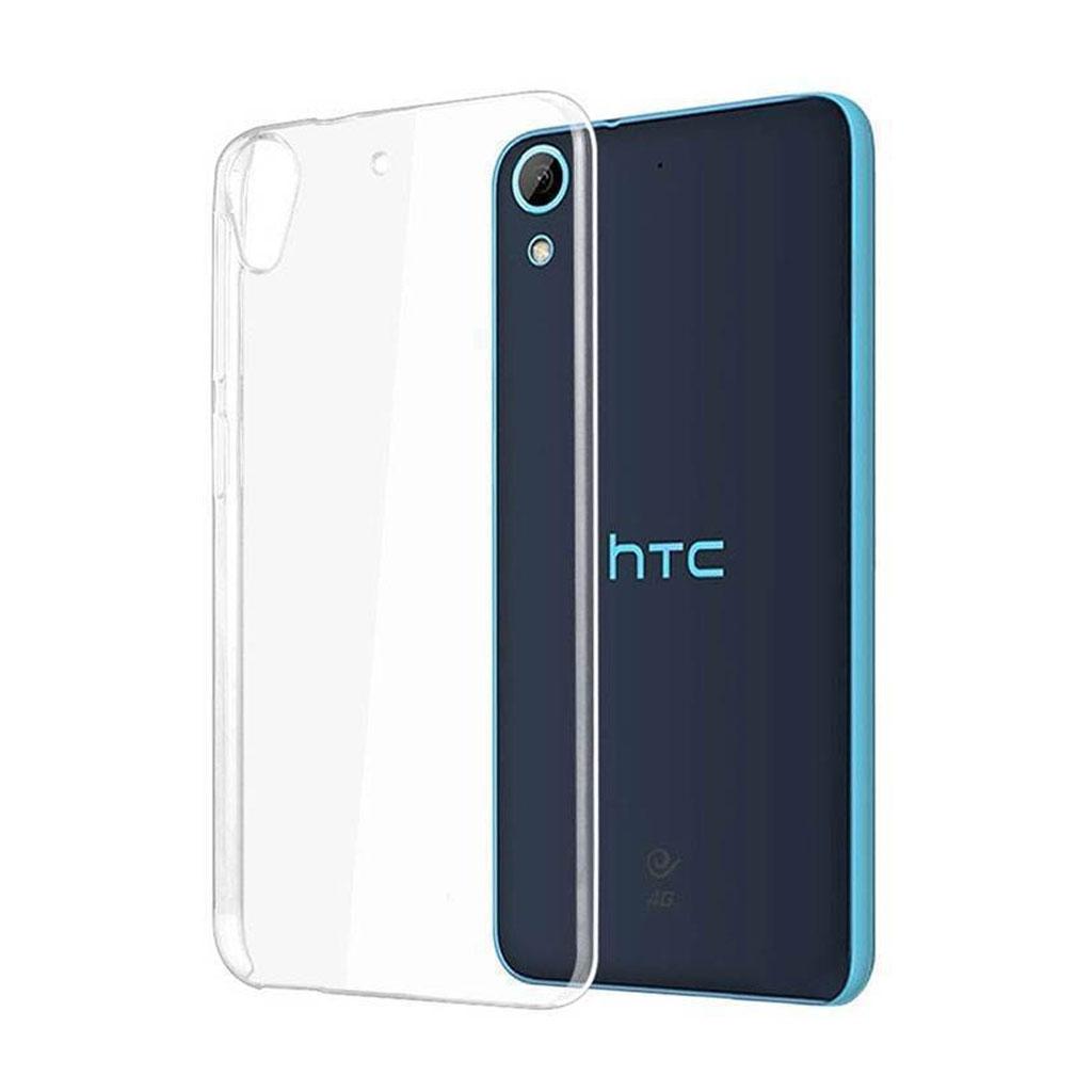 Image of   HTC Desire 820 Transparent Plast Cover (Blødt)