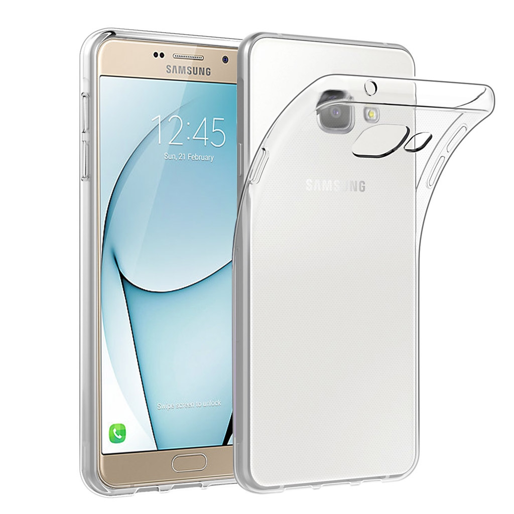 Image of   Samsung Galaxy A9 Transparent Plast Cover (Blødt)
