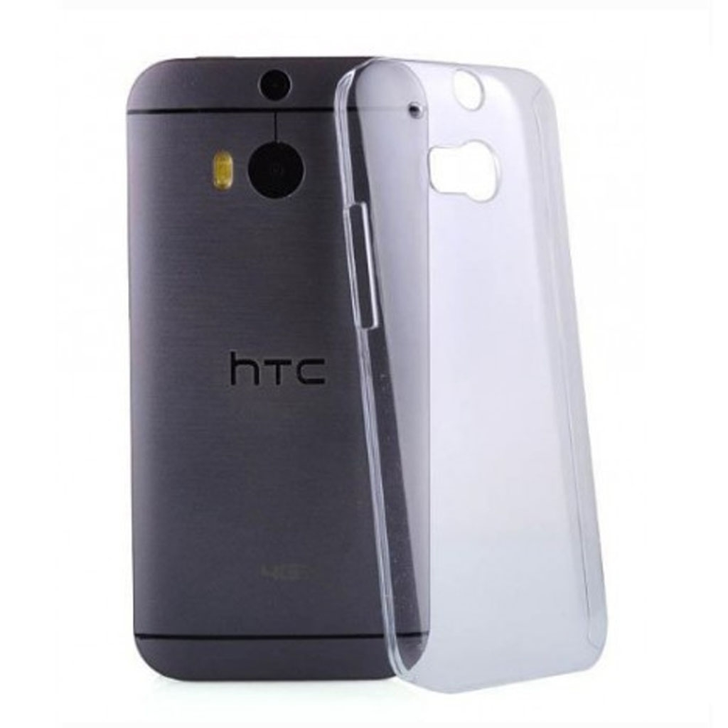 Image of   HTC One M7 Transparent Plast Cover (Blødt)