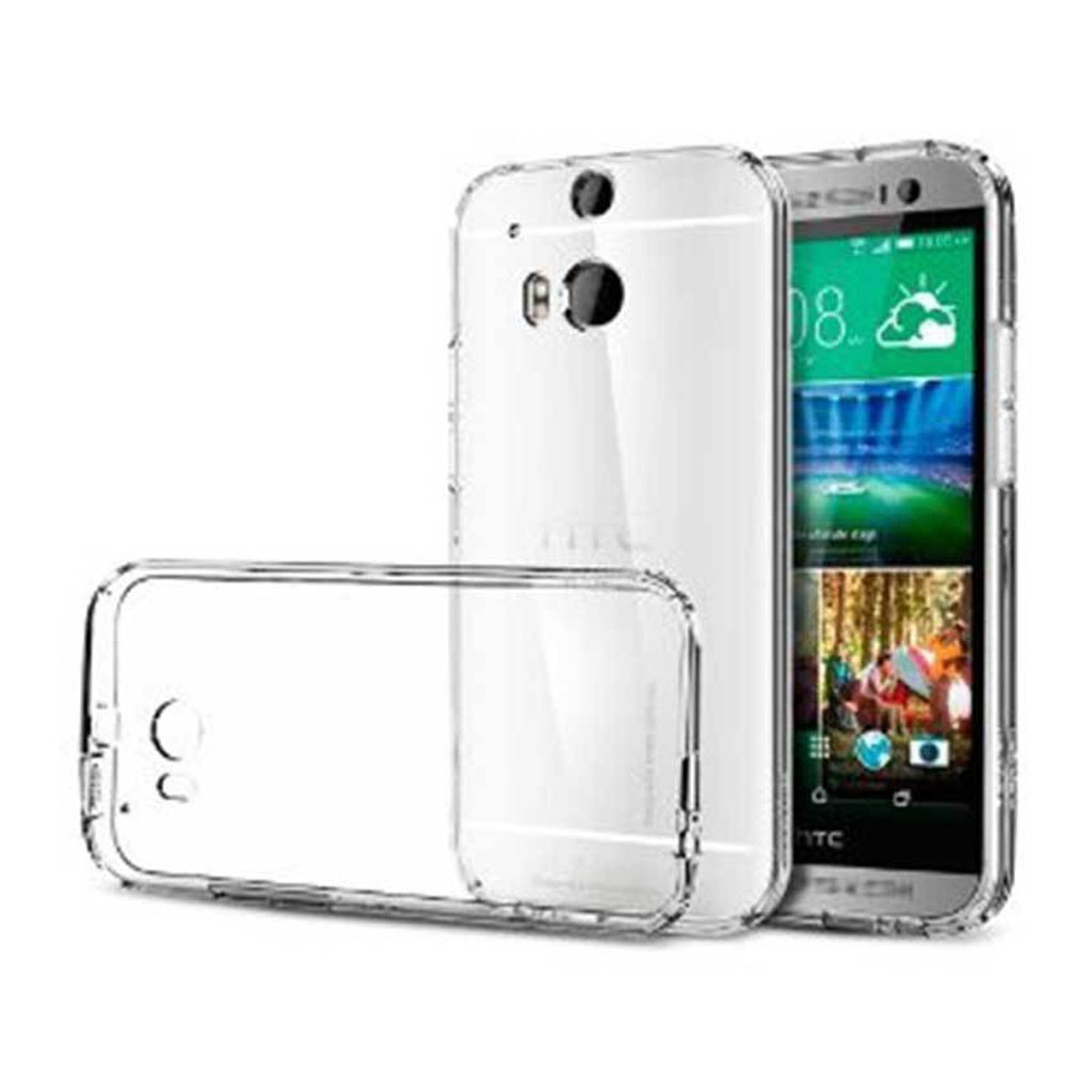 Image of   HTC One M8 Transparent Plast Cover (Blødt)