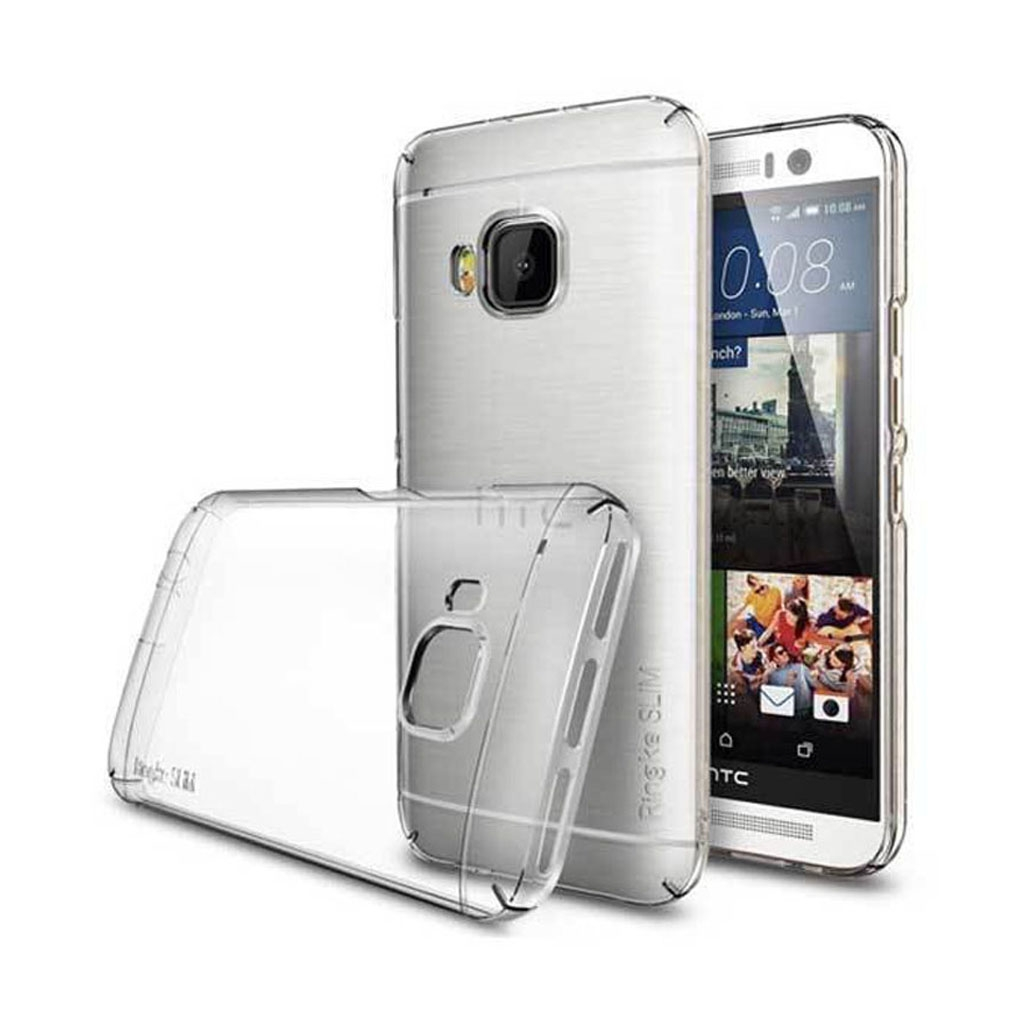 Image of   HTC One M9 Transparent Plast Cover (Blødt)