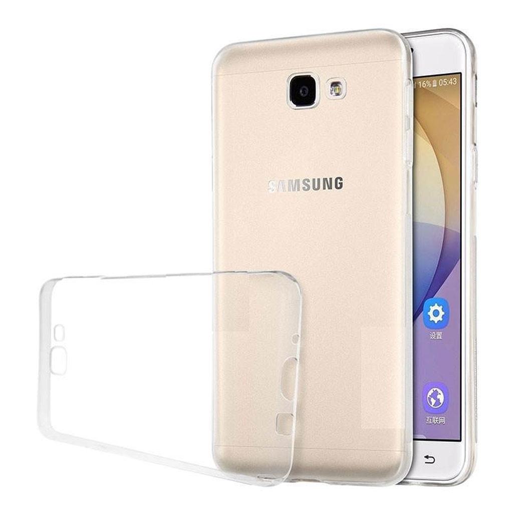 Image of   Samsung Galaxy On7 Transparent Plast Cover (Blødt)