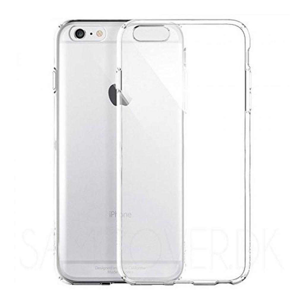 Image of   iPhone 6 og iPhone 6S Transparent Plast Cover (Blødt)