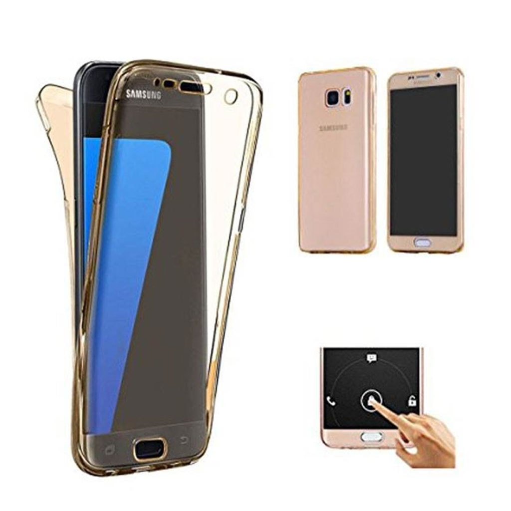 Image of   Samsung Galaxy S7 Transparent Plast Cover (Blødt) (360 Grader)