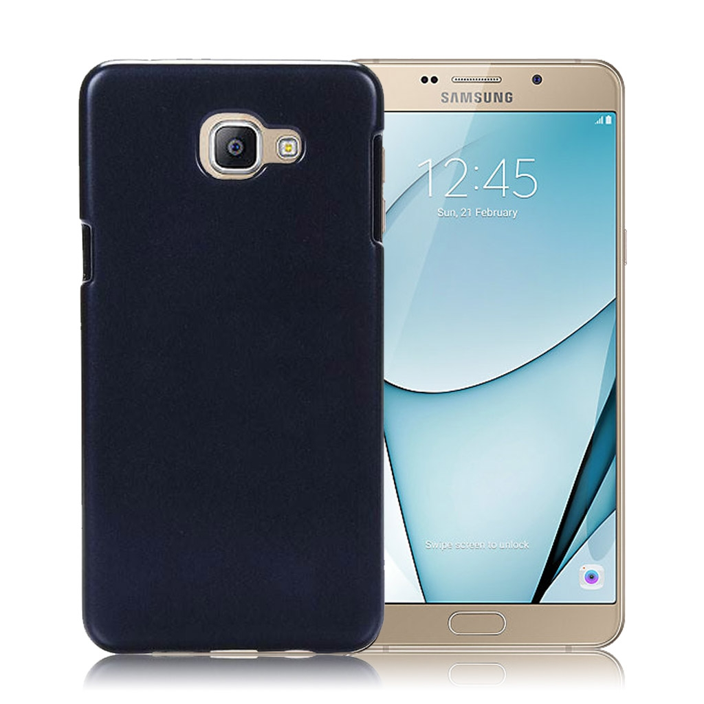 Image of   Samsung Galaxy A9 Transparent Plast Cover (Blødt) (Sort)